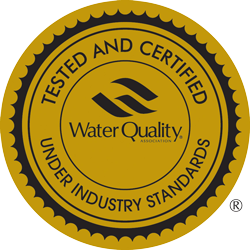 Tested and Certified Water Quality Badge